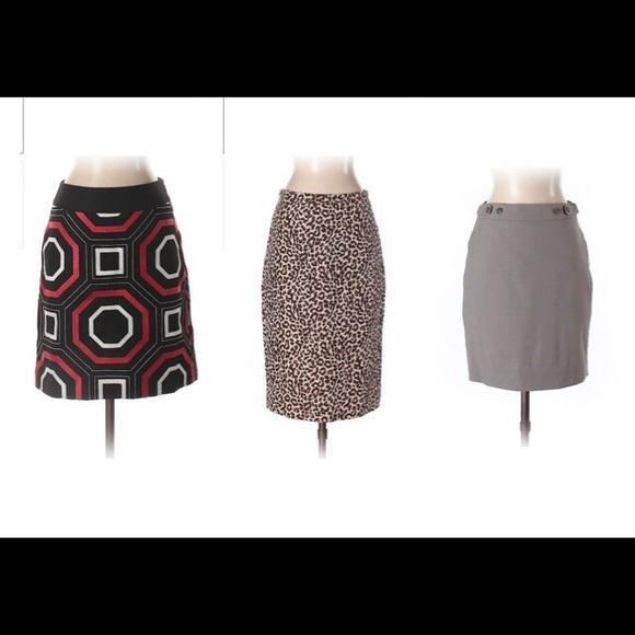 J. Crew Dresses & Skirts - Bundle of 3 J.Crew Skirts Size 0 /0P Ann Taylor